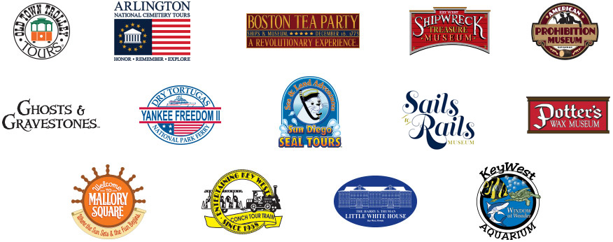 Participating Attractions Logos