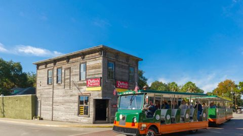 st augustine potter museum trolley