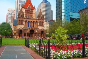 boston copley square flowers
