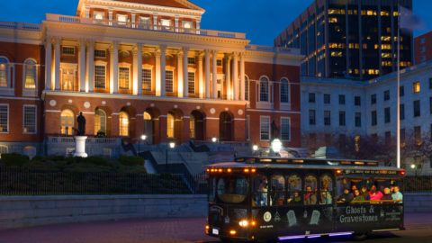 Ghosts & Gravestones Tour at Massachusetts State House