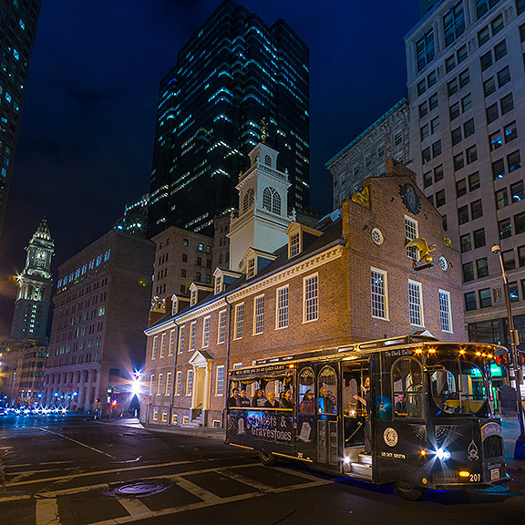 boston ghost trolley old state house