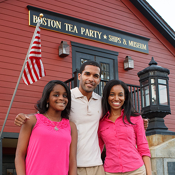 boston tea party ships family