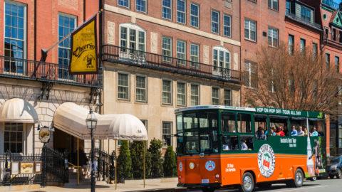 boston trolley tour cheers