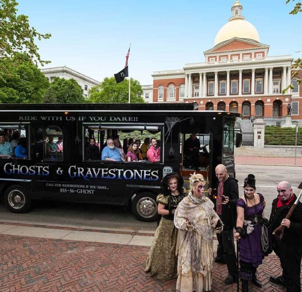 Boston ghost trolley and guides