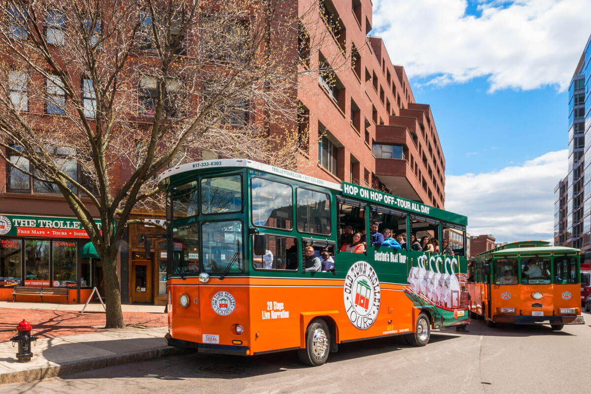 old town trolley tours boston map Best Ways To Get Around Boston Navigating Boston On Vacation old town trolley tours boston map