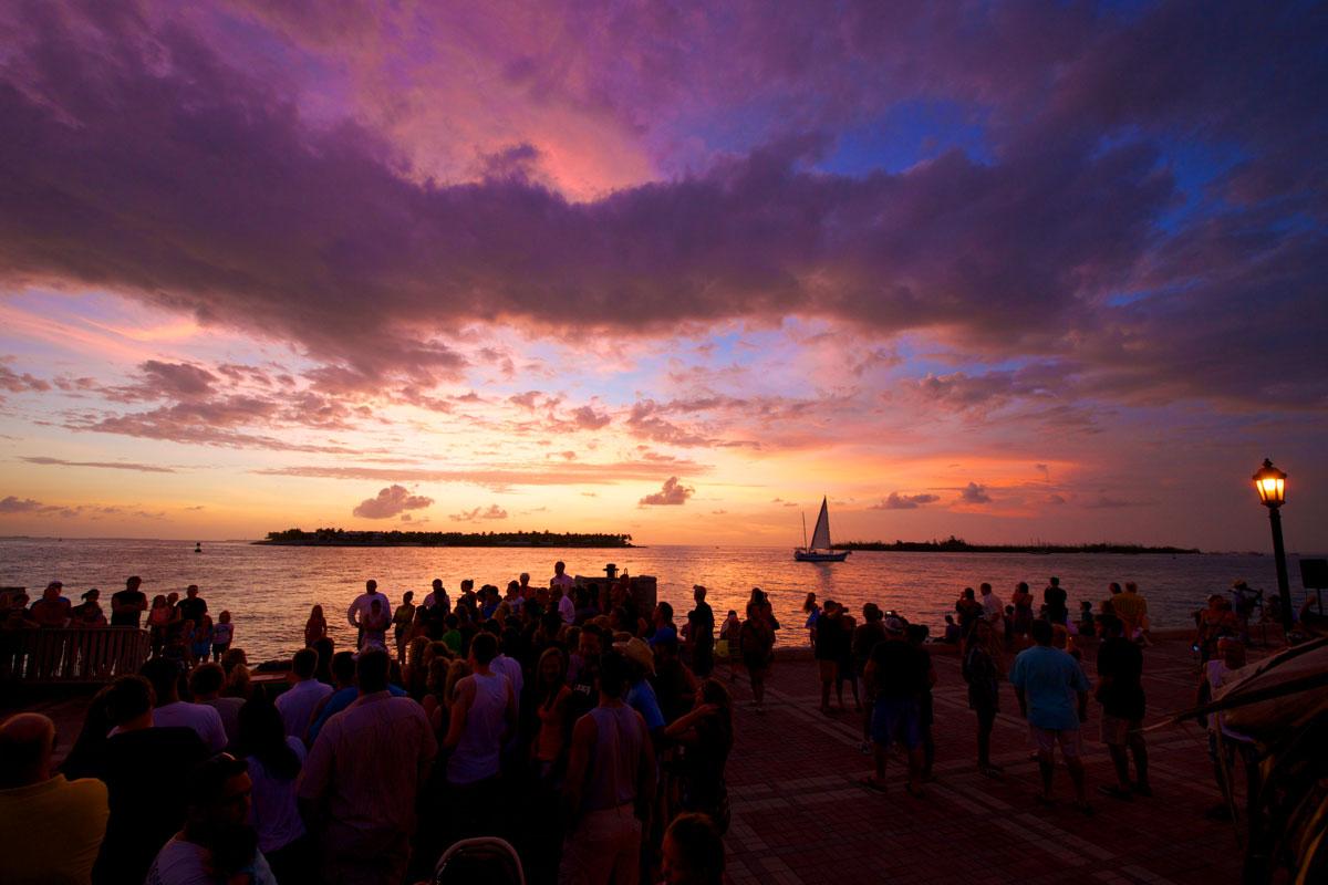 mallory square sunset celebration