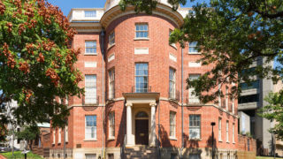 octagon house in Washington DC