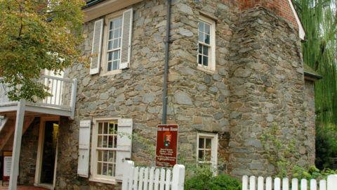 old stone house in Washington DC
