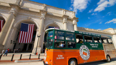 old town trolley tour washington dc