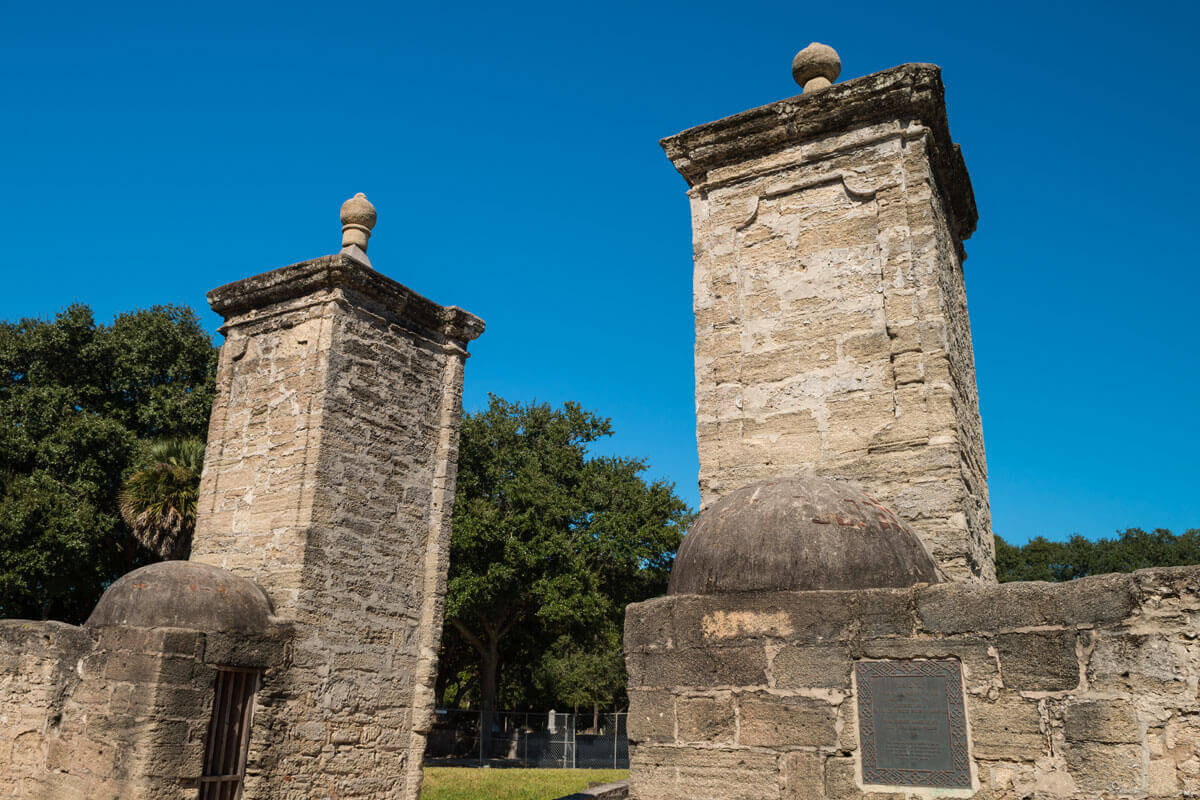 st augustine city gates