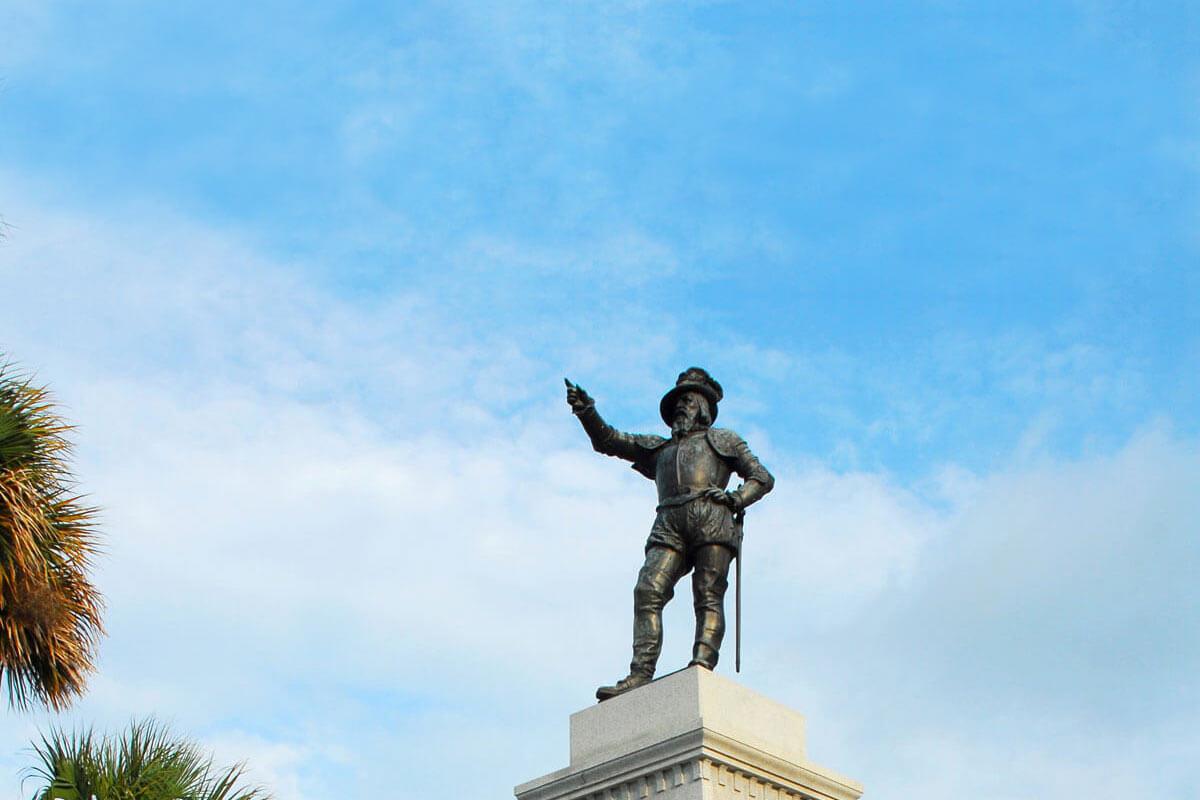 st augustine plaza de la constitucion
