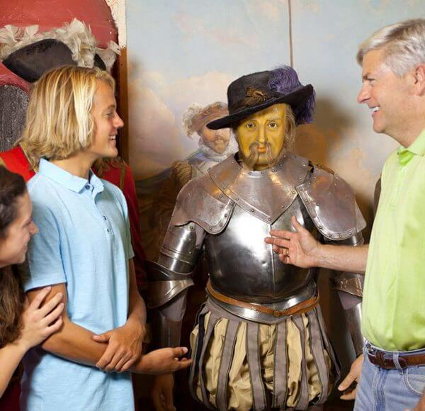 st augustine potters wax museum history