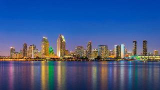Views of San Diego at Night