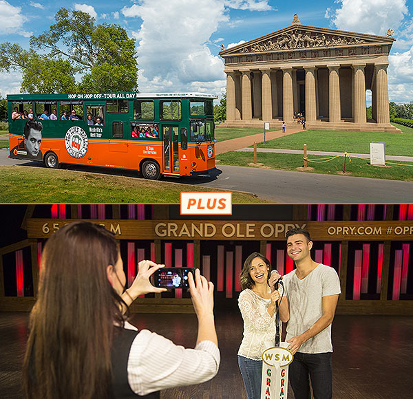 Trolley and Grand Ole Opry House Backstage Tour Package