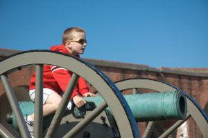 tybee island fort pulaski cannon