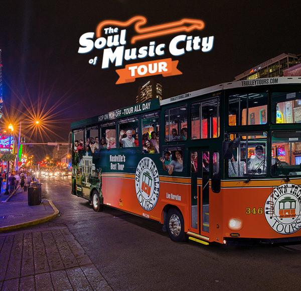 Nashville soul of music city tour trolley