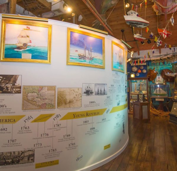 Age of Sails exhibit at Sails to Rails Museum